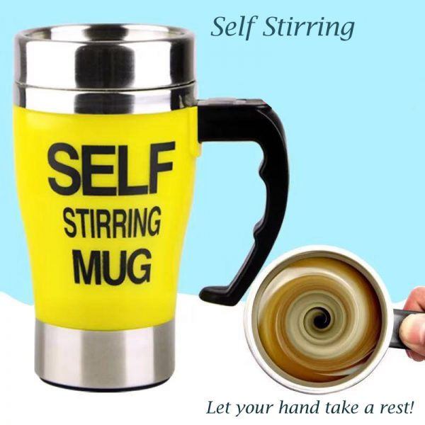 Auto Self Mixing MagCup