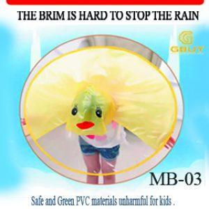 Yellow Duck UFO Playful Raincoat