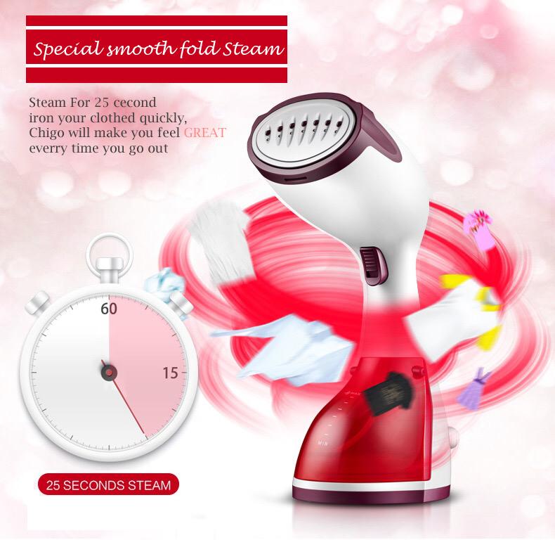 Chigo Handheld Mini Garment Steamer