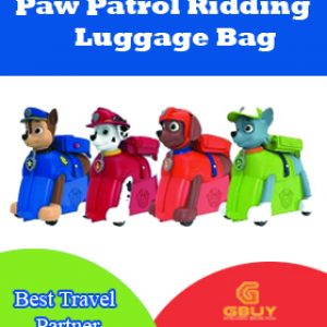 Paw Patrol Ridding Luggage Bag