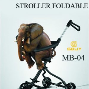 One-handed Baby Stroller Foldable