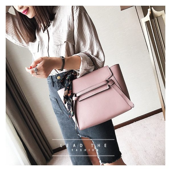 Leather Tote Bag Two Ways