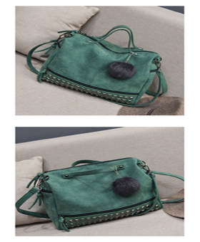 Studded Tote Two Ways Keychain