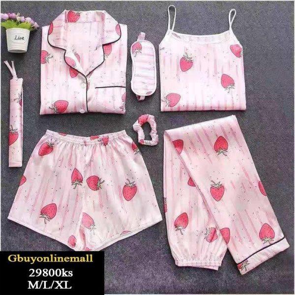 Silk Pajama Set