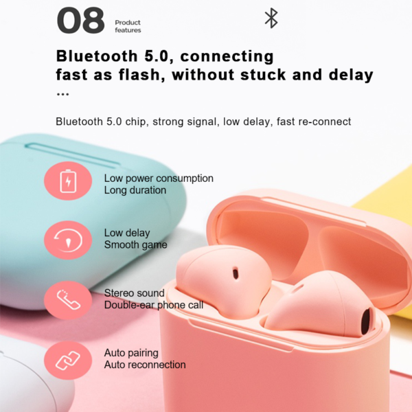 Wireless earphone new colors edition