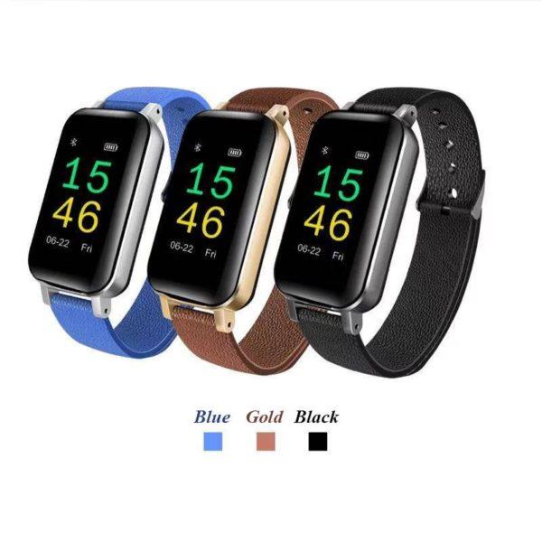Smart Watch With Earphone