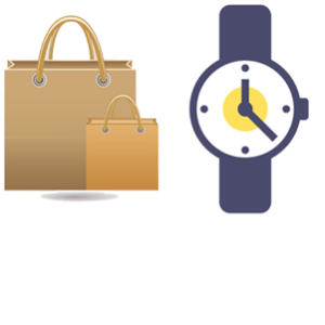 Watch and Bags