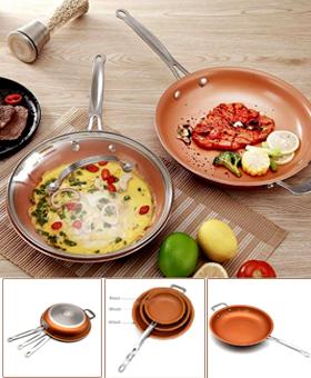 Non-stick Copper Magic Pan