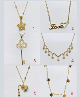 18K Gold Necklace S6