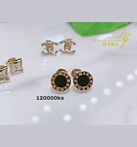18K Earring Rose Gold